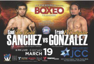 Saul Sanchez Defeats Frank Gonzalez & Full Boxing Results From Florida   Boxen247.com