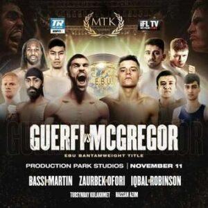 Lee McGregor Defeats Karim Guerfi & Boxing Results From England   Boxen247.com