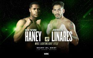 Devin Haney vs. Jorge Linares in Las Vegas on May 21st in Las Vegas   Boxen247.com
