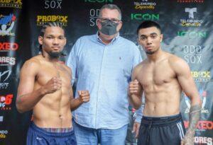 Saul Sanchez vs. Frank Gonzalez Fight Card Weights From Florida | Boxen247.com