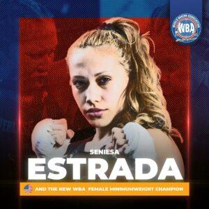 """Seniesa """"Super Bad"""" Estrada Won and is the New WBA 105 lbs. Champion   Boxen247.com"""
