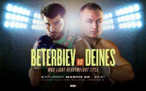 Artur Beterviev vs. Adam Deines This Saturday | Boxen247.com