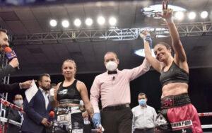 "Jackie Nava Defeats Karina ""Bella"" Fernández in Tijuana   Boxen247.com"