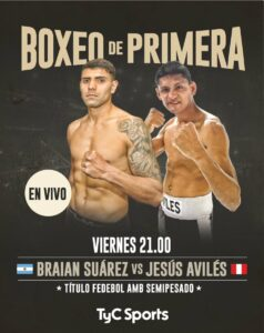 Braian Manuel Suarez Defeats Jesus Aviles & Santa Fe Boxing Results   Boxen247.com