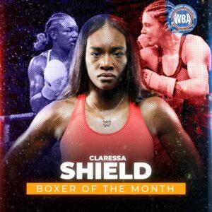 Claressa Shields is the WBA Female Boxer of the Month | Boxen247.com