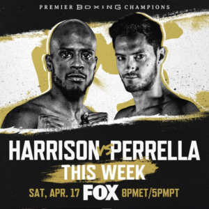Tony Harrison vs. Bryant Perrella Fight Card Weights From Los Angeles | Boxen247.com