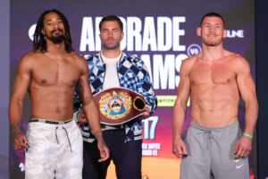 Demetrius Andrade vs. Liam Williams Fight Card Weights From Florida   Boxen247.com