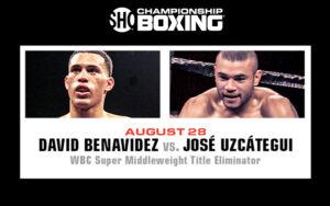 David Benavidez & José Uzcátegui Clash in a WBC elimination on Aug 28   Boxen247.com