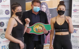 Victoire Piteau & Sara Marjanovic Weigh-In for the Francophone Title | Boxen247.com