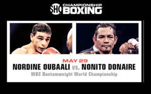 Nordine Oubaali & Nonito Donaire Clash for WBC Title on May 29th   Boxen247.com