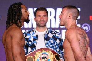 Demetrius Andrade & Liam Williams Weigh-In Ahead of Tomorrow | Boxen247.com