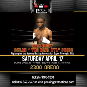Dylan Price vs. Elias Joaquino Full Fight Card Weights From Philadelphia   Boxen247.com