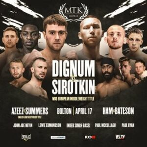 Danny Dignum Drew With Andrey Sirotkin & Boxing Results From England   Boxen247.com