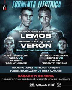 Gustavo Daniel Lemos Defeats Maximiliano Ricardo Veron & Card Results | Boxen247.com