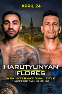 Artem Harutyunyan & Oliver Flores Clash this Saturday in Germany | Boxen247.com
