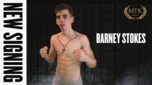 MTK Global Signs National Champion Barney Stokes | Boxen247.com