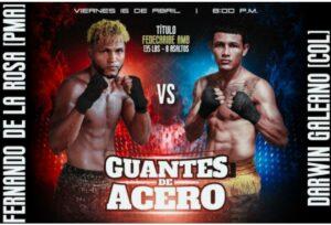 De La Rosa & Galeano will Fight for the WBA-Fedecaribe Belt on Friday | Boxen247.com