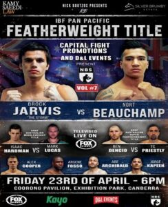 Brock Jarvis Defeats Nort Beauchamp & Boxing Results From Australia | Boxen247.com
