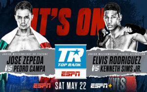 Zepeda vs. Campa & Rodríguez vs. Sims Endorse Big Billboard May 22nd   Boxen247.com