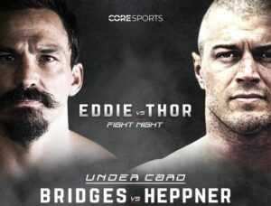 Josh Bridges vs. Jacob Heppner Added to Eddie Hall vs. Thor Undercard | Boxen247.com