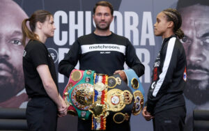Katie Taylor & Natasha Jonas Face Off Ahead of Saturday | Boxen247.com