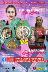 Zulina Muñoz Returns Against Isis Vargas May 15th | Boxen247.com