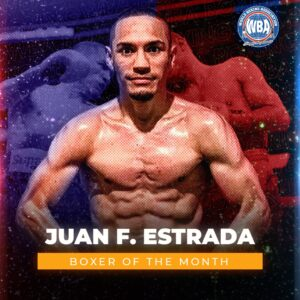 "Juan Francisco ""Gallo"" Estrada is the WBA Boxer of the Month   Boxen247.com"