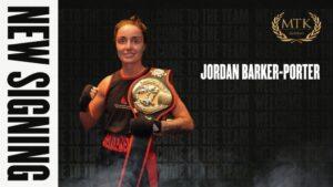 MTK Global Signs Jordan Barker-Porter | Boxen247.com