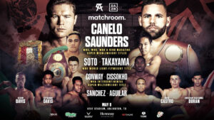 Soto, Sanchez & Conway Lead Canelo-Saunders Undercard on May 8th | Boxen247.com