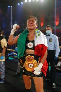 Erika Cruz Hernández is the New WBA Featherweight Champion   Boxen247.com