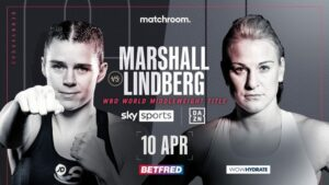 Savannah Marshall Now Faces Maria Lindberg - Hermans Out With Covid | Boxen247.com