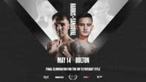 Jay Harris Faces Ricardo Sandoval on May 14th MTK Fight Night   Boxen247.com