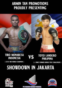 Tibo Monabesa vs. Toto Landero in Indonesia This Saturday | Boxen247.com