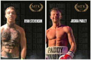 Unbeaten Ryan Stevenson & Josh Padley Join MTK Global | Boxen247.com