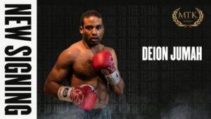 MTK Global Signs Unbeaten Cruiserweight Deion Jumah | Boxen247.com