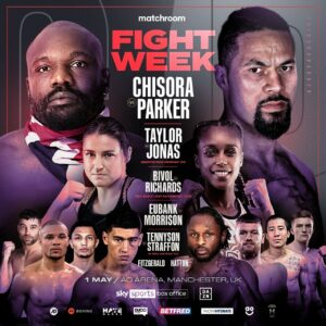 Chisora vs. Parker, Taylor vs. Jonas Fight Weights From England | Boxen247.com
