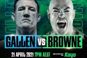 Paul Gallen KO's Lucas Browne in Round One & Australian Boxing Results   Boxen247.com