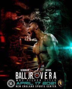 Kendrick Ball vs. Bryan Vera Crossroads Bout on Saturday April 17th   Boxen247.com