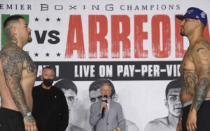 Andy Ruiz vs. Chris Arreola Fight Card Weights From California | Boxen247.com