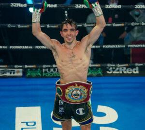 Conlan Grabs The WBO Intercontinental Junior Featherweight Belt | Boxen247.com
