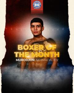 Akhmadaliev Won the WBA Boxer of the Month Award   Boxen247.com