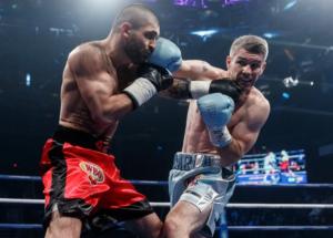Magomed Kurbanov Defeats Liam Smith in Russia | NobleBoxing.com
