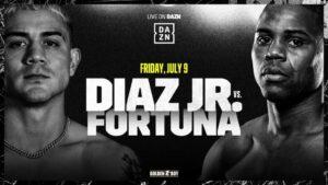 JoJo Diaz Faces Javier Fortuna in Los Angeles On July 9 | Boxen247.com