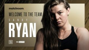 Sandy Ryan Inks Promotional Deal With Matchroom Boxing | Boxen247.com