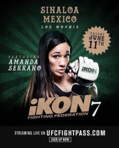 Amanda Serrano To Headline iKON 7 MMA Event June 11 | Boxen247.com