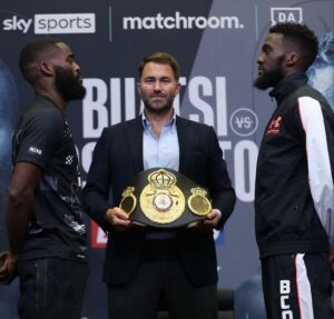 Buatsi & Dos Santos Showed Their Weapons At Press Conference | Boxen247.com