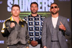 Canelo vs. Saunders Quotes From Final Press Conference   Boxen247.com