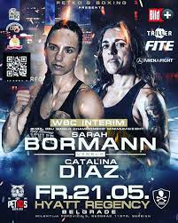 Sarah Bormann Defeats Catalina Diaz in Serbia For WBF Title | Boxen247.com