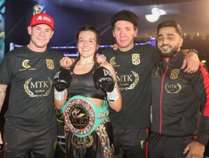 Chantelle Cameron: I Feel Good Being The Target | Boxen247.com