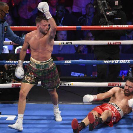 Josh Taylor Defeats Jose Ramirez - Full Fight Report & Scorecard | Boxen247.com